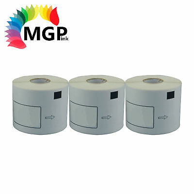 3 Compatible for Brother DK11202 Refill only Label 62mmx100mm QL500/570 QL700