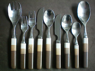Denby Touchstone Agate Individual Cutlery Pieces Knife Fork Spoon Serving