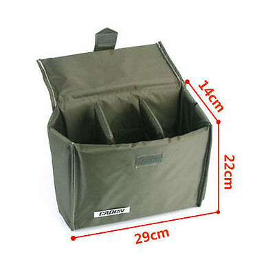 New Waterproof DSLR Camera Bag Partition Padded Insert Foldable Case Cover Pouch