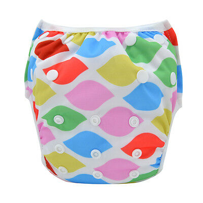 Alva Baby Swim Diaper Pant Washable Reusable One Size Breathable Cover for Girls