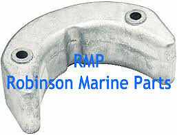 Evinrude Johnson Outboards Anode Lower Front 40hp-thru-70hp # 392462