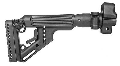 UAS-MP5-S by FAB Defense TACTICAL FOLDING BUTTSTOCK Black color