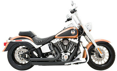 Freedom Performance Exhaust Softail Amendment 86-Up Black Harley Custom