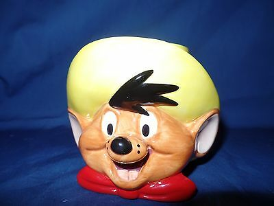 Speedy Gonzales 3D Coffee Mug Cup 1994 Looney Tunes Warner Bros. Mouse Applause