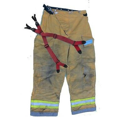 Firefighter Turnout PANTS w/Suspenders (variable sizes)