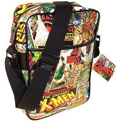 Marvel Comics: Multi Character Fully Lined Flight Bag - New & Official With Tag