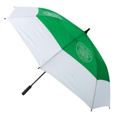 Premier Licensing Celtic Double Canopy Storm Tour Vent Golf Umbrella Sent in Box