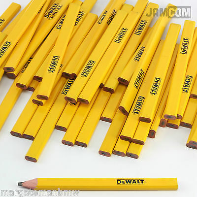 DeWalt Pencils DIY Builders Joiners Carpenters Woodwork Mens Gift Xmas/Birthday