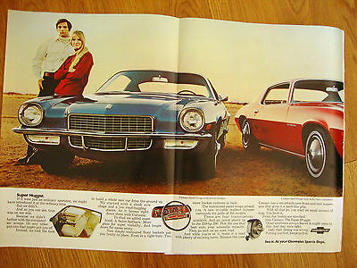 1970 Chevrolet Camaro Sport Coupe & Rally Sport Coupe Ad