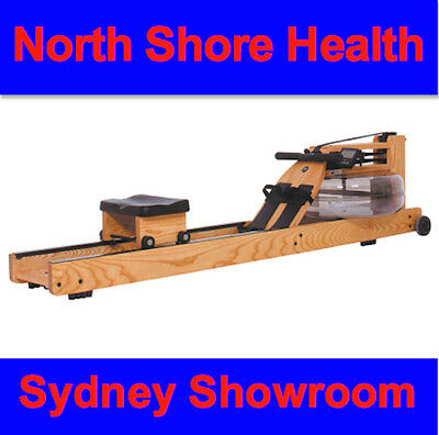 WATER ROWER NATURAL Rowing Machine. Visit our SYDNEY DISPLAY SHOWROOM !!