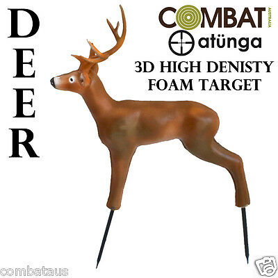 3D DEER TARGET HIGH DENSITY SELF HEALING FOAM ARCHERY TARGET HUNTING  atunga bow