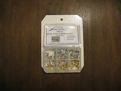Fly Tying-Spirit River Value Real-Eyes Assortment