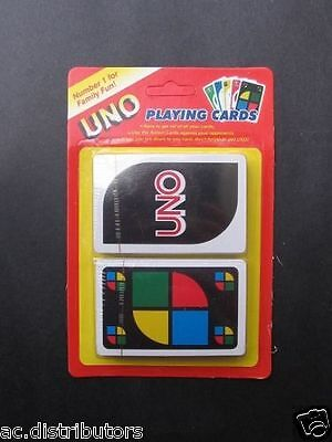 UNO Playing Card Educational Game - Number 1 Family Fun Gards