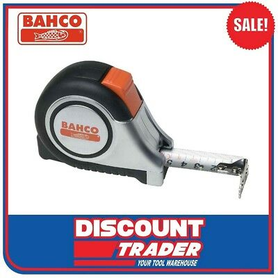 Bahco 8 Metre (26Ft) Measuring Tape – Stainless Steel - MTS-8-25