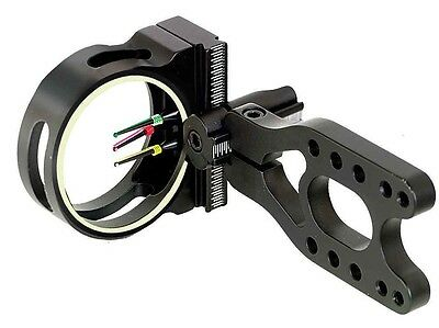 New PSE Archery Gemini Compound Bow Field Target Sight Site 3 Pin Adjustable