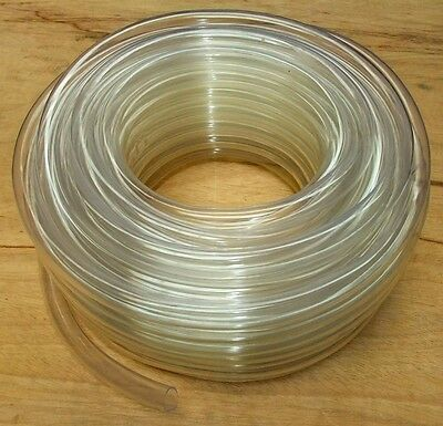 PVC Tube Clear Plastic Hose Pipe - Food Grade - Fish Pond Car Aquariums Fuel Air