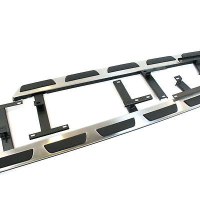 Audi Q3 Stainless Steel Side Steps Bars Running Boards Silver Accessories