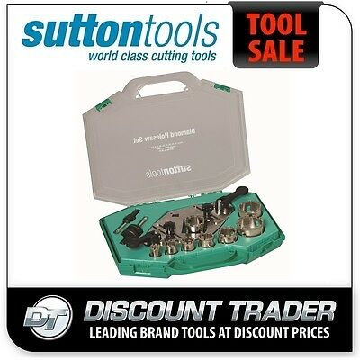 Sutton Diamond Grit Holesaw Set H115 11 Piece H1150011