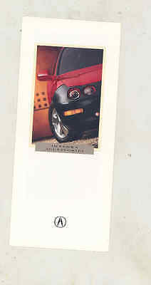 1996 Acura Integra Accessories Small Brochure mx9429