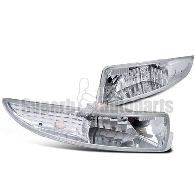 1993-2002 Chevy Camaro Front Bumper Lights Parking Signal Lamps Clear