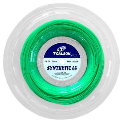 Toalson Synthetic 63 1.20mm 18 Squash Strings 200M Reel