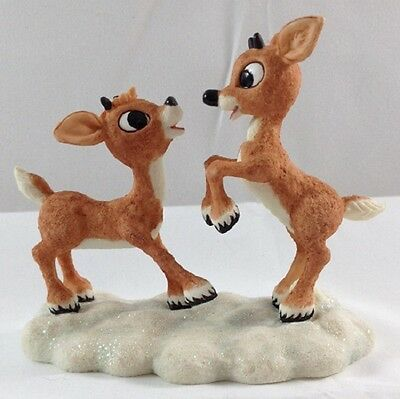 Enesco Rudolph & Misfit Toys YOU CAN BE MY BUDDY 875376 NEW IN BOX