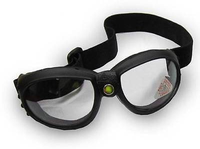 Emgo Bandito Motorcycle Goggles Anti Fog Clear Lens