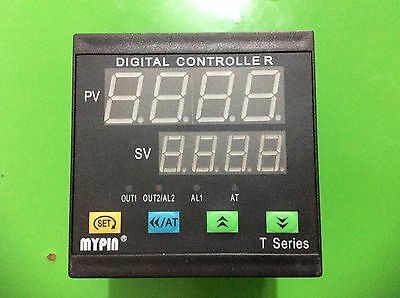 90-260V Digital F/C PID Temperature Controller Thermostat TA9 SSR output+2Alarms