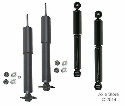 4 New Shocks Full Set with Lifetime Warranty OE Repl. Silverado 1500 2WD Only