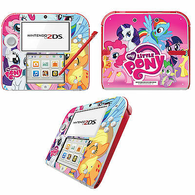 My Little Pony Vinyl Skin Sticker for Nintendo 2DS