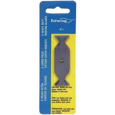 Estwing Roofing Knife Butterfly Blades 5 Per Pack 14417
