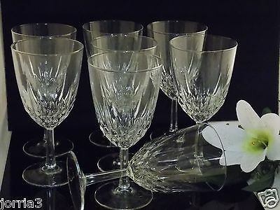 Set Of (8) Vintage Diamant,  Crystal, glassware by Cris D Arques Durand