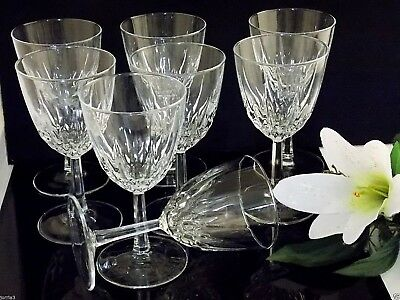 Set Of (8) Vintage Diamant  Crystal, glassware by Cris D Arques Durand
