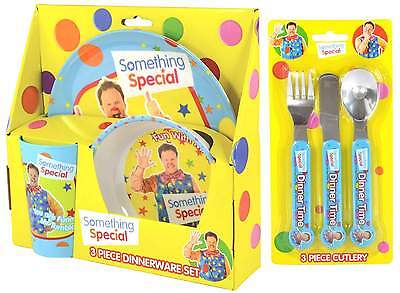 Something Special Mr Tumble 6-Piece Dinner Set | Tableware | Cutlery | CBeebies
