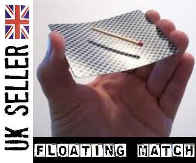 Floating Match. levitation rising illusion close up magic trick (easy to do)