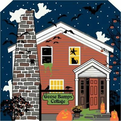 Cat's Meow Village Halloween Goose Bumps Cottage #14-631 NEW Shipping Discounts
