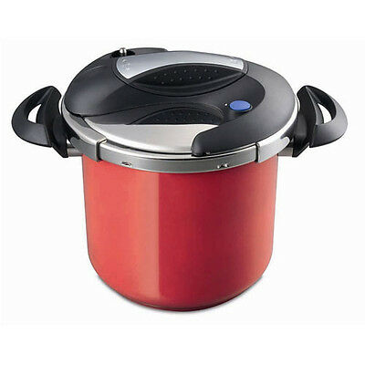 NEW Baccarat Easy Twist Pressure Cooker 7L Red