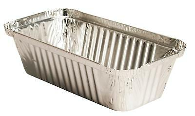 100 Aluschalen 650ml LASAGNESCHALE 219x127x33mm