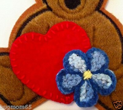 Firefly Serenity Kaylee HEART & FLOWER PATCH Set (Bear sold separately)