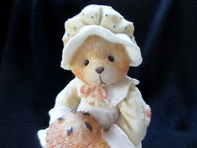 """Cherished Teddies """"PATIENCE, Happiness is Homemade"""" #617105 5D3/839 (1994)"""