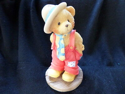 "Cherished Teddies ""LOGAN, Love Is A Bear Necessity""  # 103756  6C3/098  (1996)"
