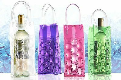 Wine Bottle Cooler Gel Bag, Chilled Wine Ice Bag