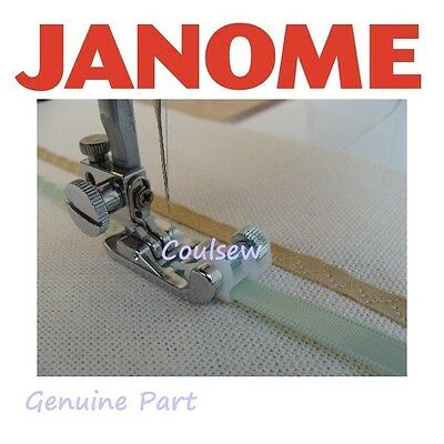 JANOME sewing machines RIBBON / SEQUIN FOOT cat B + C 200332000 GENUINE PACKAGED