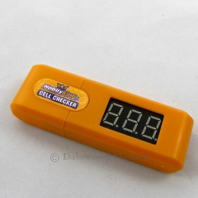 Key Ring Style Lipo Battery Checker HobbyKing 2 – 6S RC Lipoly Cell