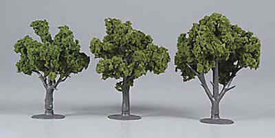 NEW Woodland Scenics Assembled Tree Medium Green 4  TR1507