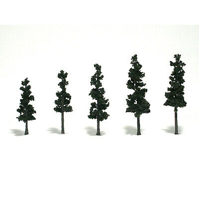 NEW Woodland Scenics Assembled Conifer Pine Green 4  TR1560