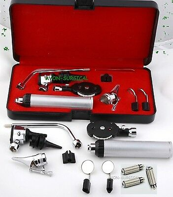 New Incredible Otoscope Set ENT Medical Diagnostic Surgical Instruments+ 3 BULB