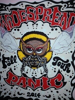 Widespread panic fall tour 2014 poster