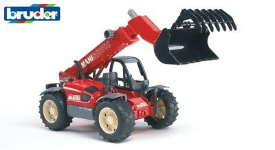Bruder Toys 02125 Pro Series Manitou Telescopic Loader Toy Model 1:16