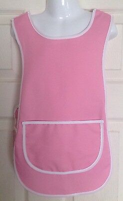 Wholesale Job Lot 10 Brand New Girls 3-4 Years Tabard Aprons Pink Clothes Craft